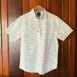 Denim & Flower Fiesta Button Up Shirt